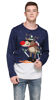 Picture of Shineflow Men's Knitted Merry Christmas Ugly Christmas Sweater Pullover Jumper